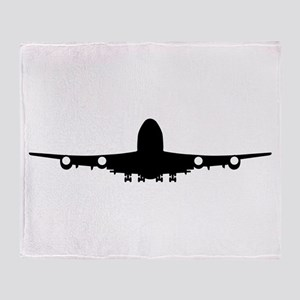 Airplane aviation Throw Blanket