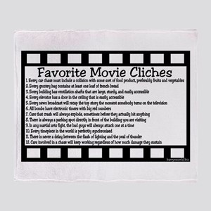 Cliches Throw Blanket