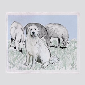 Great Pyr Pastoral Throw Blanket