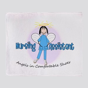 Nursing Assistant Throw Blanket