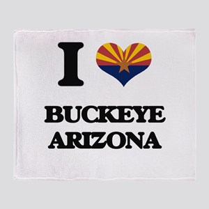 I love Buckeye Arizona Throw Blanket