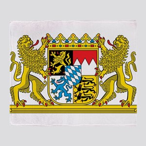 Bavaria Coat Of Arms Throw Blanket