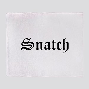 Snatch Throw Blanket