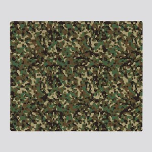 ARMY DIGI CAMO Throw Blanket