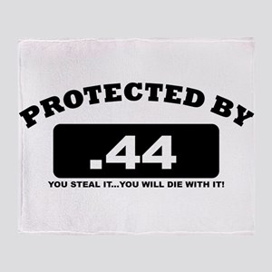property of protected by 44 b Throw Blanket