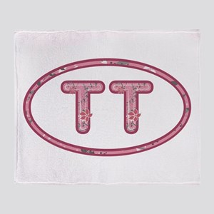 TT Pink Throw Blanket