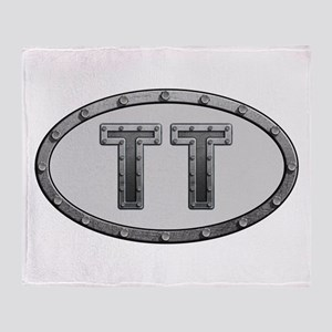 TT Metal Throw Blanket