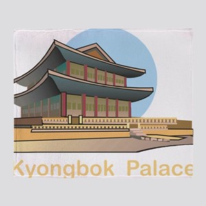 Kyongbok Palace1Bk Throw Blanket