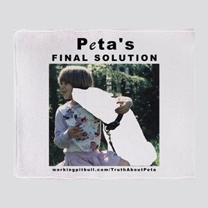 Final Solution Throw Blanket