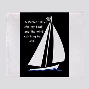 A Perfect Day Throw Blanket