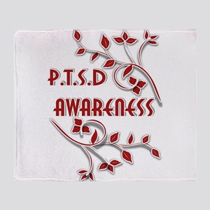 P.T.S.D. AWARENESS Throw Blanket