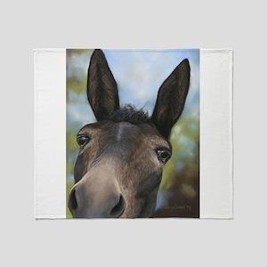 Mule Blankets - CafePress