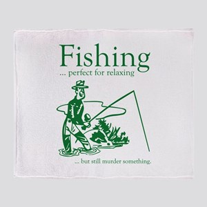 Fishing Stadium Blanket