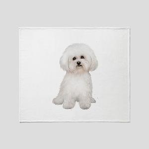 Bichon Frise Blankets - CafePress