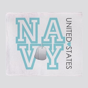 United States Navy Throw Blanket