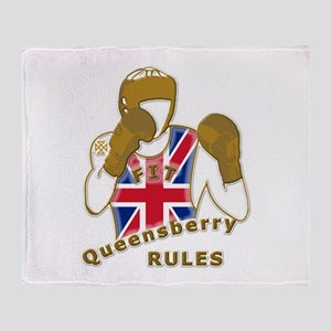 England GB Boxing Throw Blanket