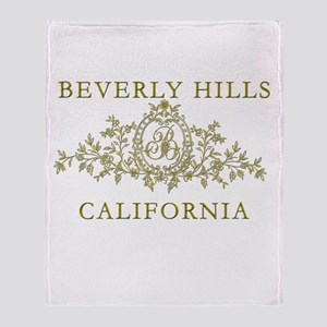 Beverly Hills CA Throw Blanket