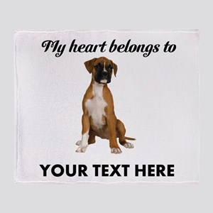 4679595b1344 Personalized Dog Blankets - CafePress