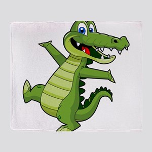 ALLIGATOR147 Throw Blanket