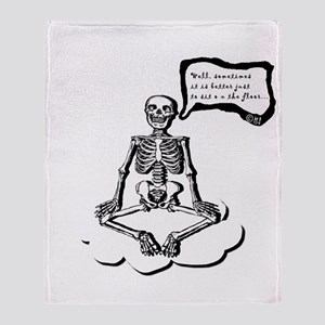 Yoga Throw Blanket