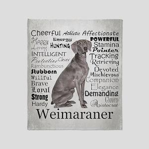 Weimaraner Blankets - CafePress
