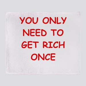 rich Throw Blanket