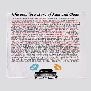 Supernatural Epic Love Throw Blanket