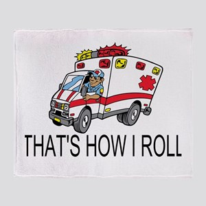 Ambulance driver Throw Blanket