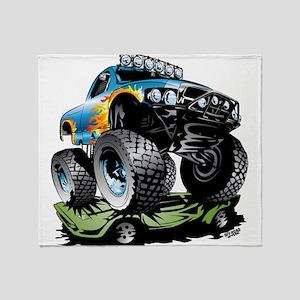 1a67b32594d Monster Race Truck Crush Throw Blanket