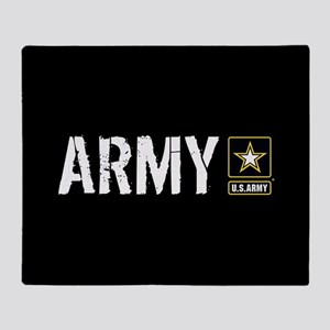 U.S. Army: Army (Black) Throw Blanket