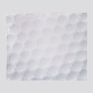 Golf Ball Texture Throw Blanket