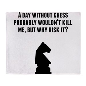 979658a3 Chess Blankets - CafePress