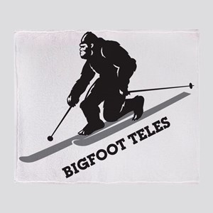 Bigfoot Teles Throw Blanket