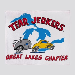 Great Lake TJ LARGE Logo - FINAL Throw Blanket