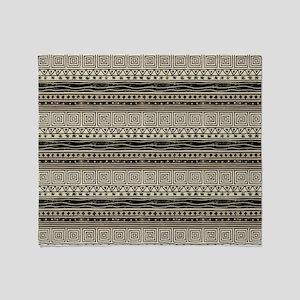 5e9e4689a African Pattern Throw Blanket
