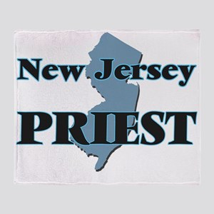 New Jersey Priest Throw Blanket