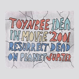 Toynbee Idea Tile Throw Blanket