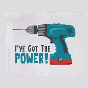 Ive Got The Power! Throw Blanket