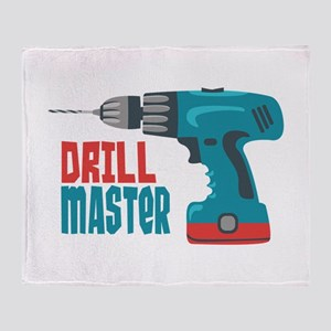 Drill Master Throw Blanket