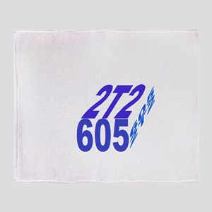 2tt2/605 cube Throw Blanket