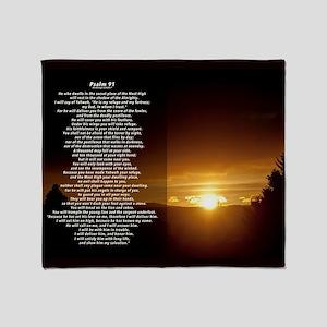 Psalm 91 Blankets - CafePress