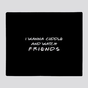 friends tv cuddle and Throw Blanket