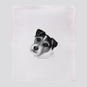 Jack (Parson) Russell Terrier Throw Blanket