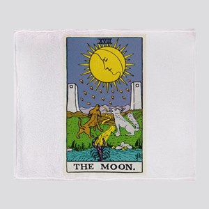 THE MOON TAROT CARD Throw Blanket