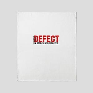 Defect.. Throw Blanket