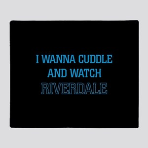Cuddle and Watch Riverdale Throw Blanket