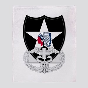 2nd Infantry CFMB Throw Blanket