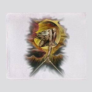 William Blake's Ancient of Days Throw Blanket