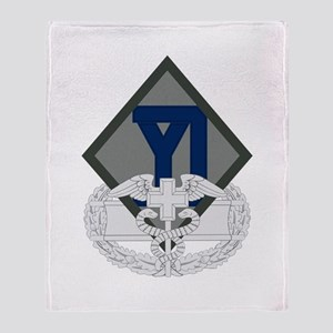 26th Infantry CFMB Throw Blanket