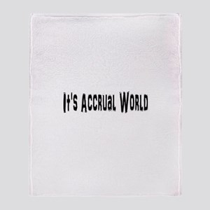 Accural World Throw Blanket